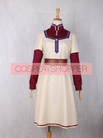 Snow White with the Red Hair Akagami no Shirayukihime Shirayuki Cosplay Costume
