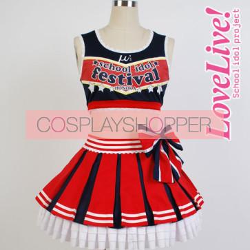Love Live! Honoka Kosaka Cheerleading Uniform Cosplay Costume