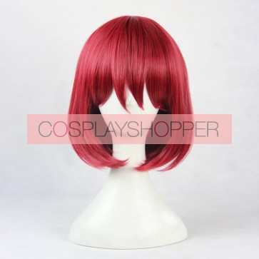 Red 40cm Snow White with the Red Hair Akagami no Shirayukihime Shirayuki Cosplay Wig