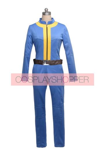 Fallout 3 Vault Uniform Jumpsuit Cosplay Costume