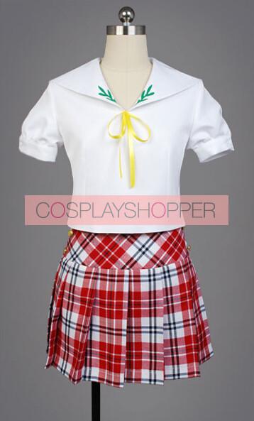 """The """"Hentai"""" Prince and the Stony Cat. HenNeko Tsukiko Tsutsukakushi School Uniform Cosplay Costume"""