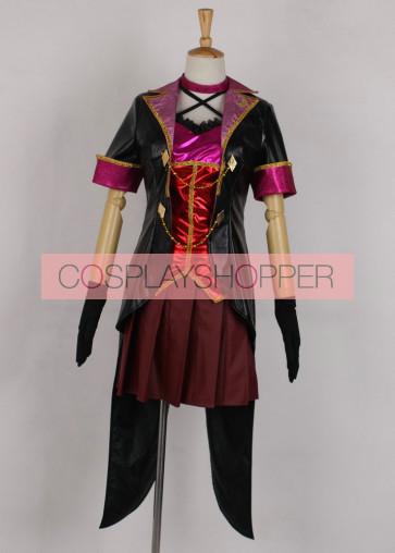 The Idolmaster Cinderella Girls Tulip Shiki Ichinose Cosplay Costume