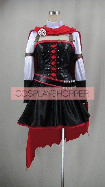 RWBY Ruby Rose Suit New Design Cosplay Costume
