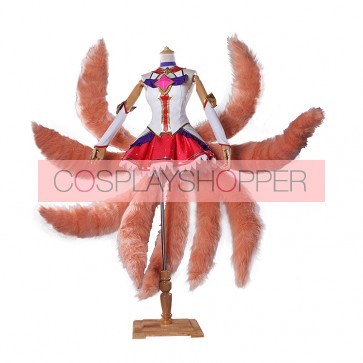 League of Legends Star Guardian Ahri Cosplay Costume
