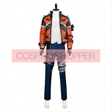 Overwatch Soldier 76 Slasher 76 Cosplay Costume Skin Outfit Suit Jacket Uniform