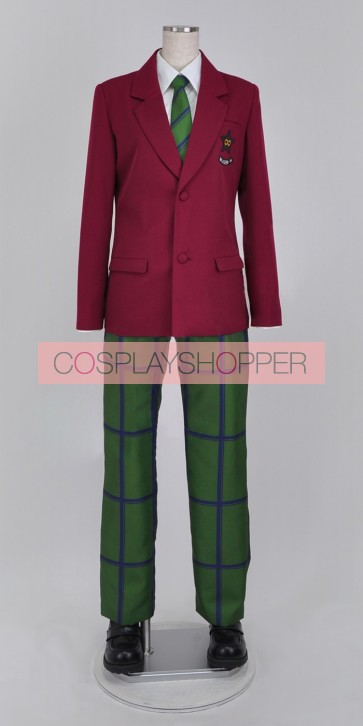 Sailor Moon SuperS Mugen Academy Long Sleeves Boy's Unifom Cosplay Costume