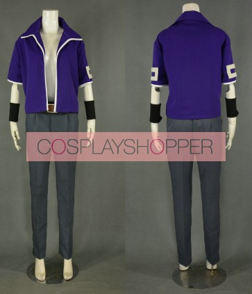 Fairy Tail Elfman Strauss Cosplay Costume