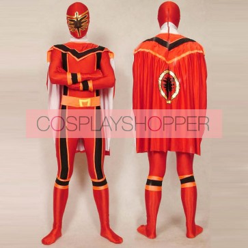 Green Power Rangers Mystic Uniform Spandex Zentai Costume