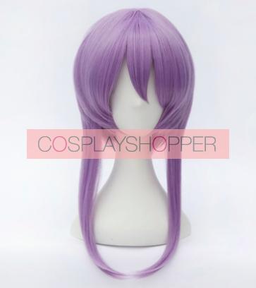 Purple 30cm Seraph of the End Owari no Serafu Shinoa Hiragi Cosplay Wig