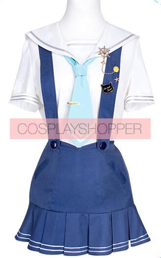 Love Live! Rin Hoshizora Marine Ver. Sailor Suit Cosplay Costume