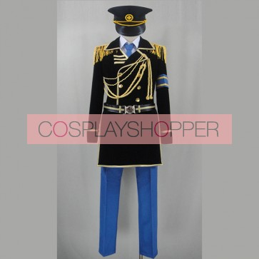 K Project Saruhiko Fushimi Military Uniform Cosplay Costume