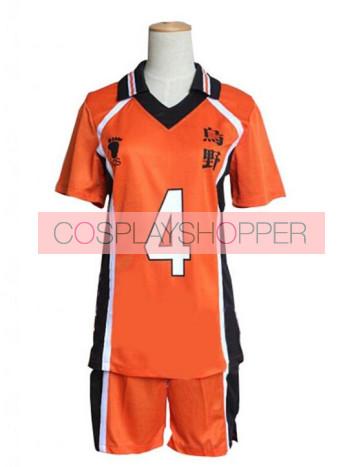 Haikyuu!! Yu Nishinoya Karasuno High School Sports Uniform Cosplay Costume