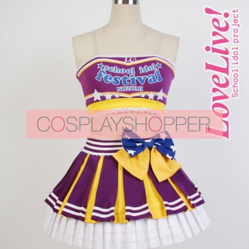 Love Live! Nozomi Tojo Cheerleading Uniform Cosplay Costume