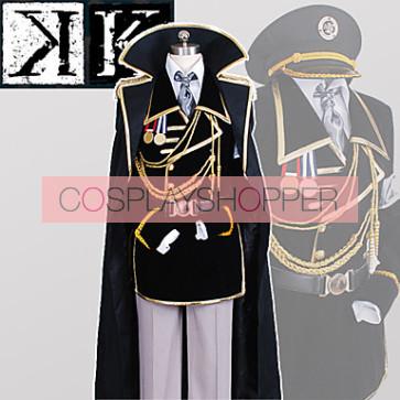 K: Missing Kings Yashiro Isana Military Uniform Cosplay Costume
