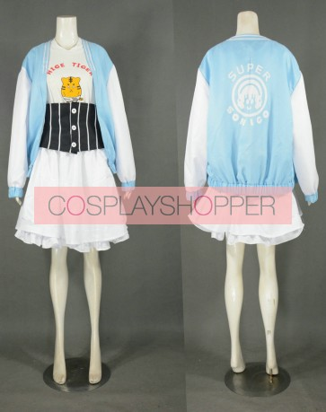 Nitro Super Tiger Super Sonico Cosplay Costume