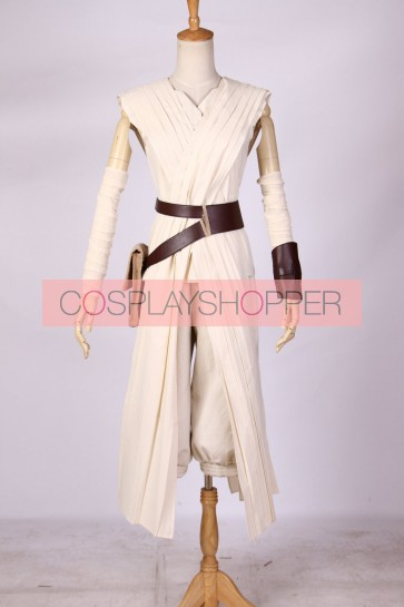 Star Wars 7: The Force Awakens Rey Cosplay Costume