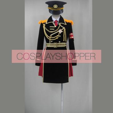 K Project Anna Kushina Military Uniform Cosplay Costume
