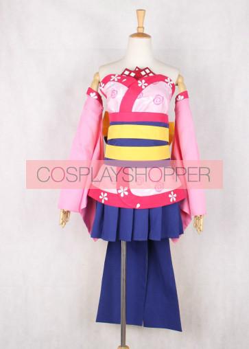 Onigiri Shizuka Gozen Cosplay Costume
