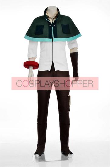 God Eater Burst Lenka Utsugi Cosplay Costume (with Cape)