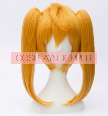 Yellow 30 cm Seraph of the End Owari no Serafu Mitsuba Sangu Cosplay Wig