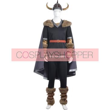 Viking Warrior Cosplay Costume