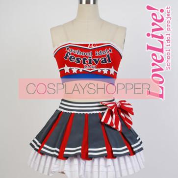 Love Live! Maki Nishikino Cheerleading Uniform Cosplay Costume