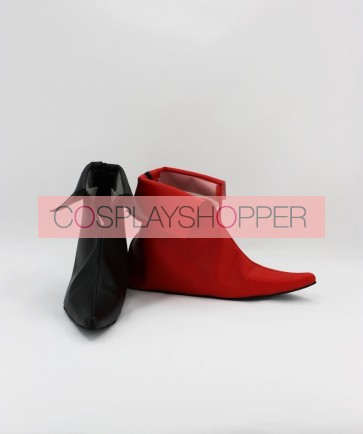 Batman Harley Quinn Faux Leather Cosplay Shoes