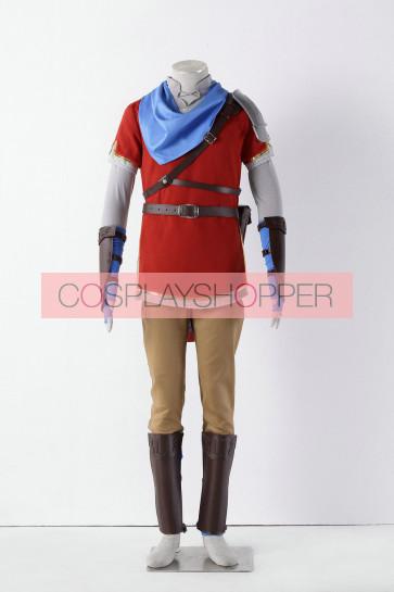 The Legend of Zelda: Hyrule Warriors Link Red Cosplay Costume