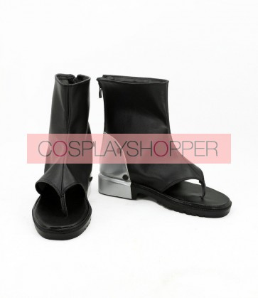 Kabaneri of the Iron Fortress Mumei Black Cosplay Boots