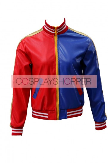 Suicide Squad Harley Quinn Coat Cosplay Costume