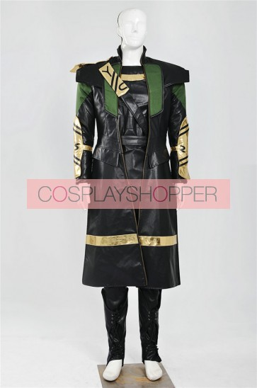 Thor: The Dark World Loki Laufeyson Cosplay Costume