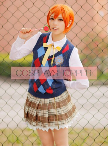 Love Live! Rin Hoshizora Constellation Ver. Cosplay Costume