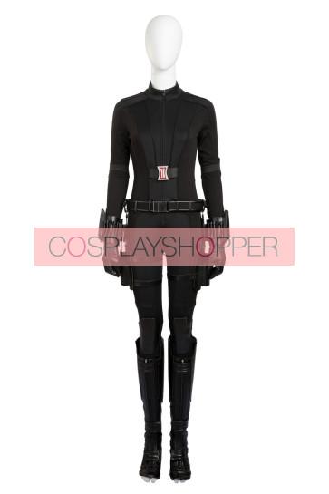 Captain America: Civil War The Winter Soldier Black Widow Natasha Romanoff Cosplay Costume