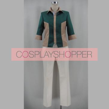 Chivalry of a Failed Knight Ikki Kurogane Cosplay Costume (with Green Shirt)