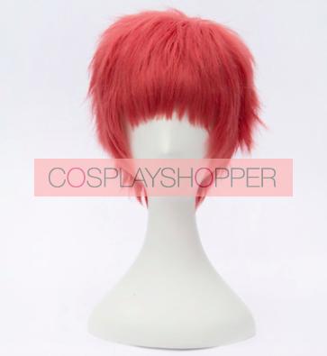 Red 30cm Seraph of the End Owari no Serafu Shiho Kimizuki Cosplay Wig01