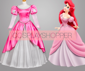 The Little Mermaid Dress Cosplay Costume