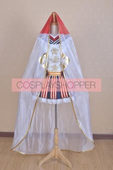 Love Live! SR UmiSonoda Awaken Fairy Tale Cosplay Costume