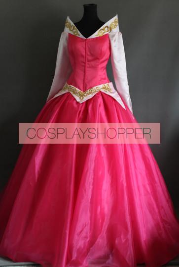 Sleeping Beauty Aurora Princess Dress Cosplay Costume