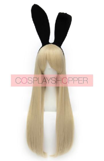 Golden 80cm Kantai Collection Shimakaze Cosplay Wig