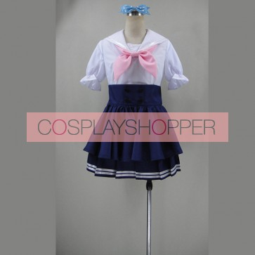 Love Live! Honoka Kosaka Marine Version Uniform Cosplay Costume