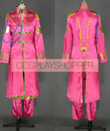 The Beatles Sgt Pepper Lonely Hearts Club Band John Lennon Cosplay Costume