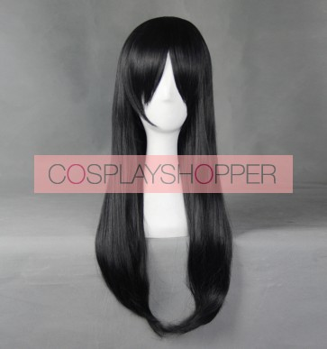 Black 60cm Gangsta. Alex Benedetto Cosplay Wig