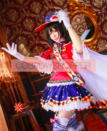 Love Live! SR Nico Yazawa Magician Ver. Suit Cosplay Costume