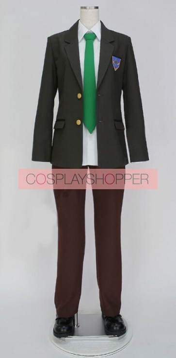 Free! Haruka Nanase Iwatobi High School Boy's Unifom Cosplay Costume