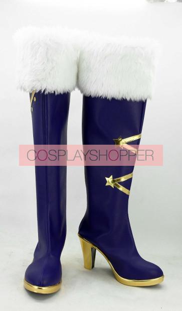 Love Live! Nico Yazawa Snowy Mountain Ver. Cosplay Boots