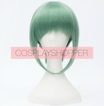 Green 30cm Kantai Collection Yubari Cosplay Wig