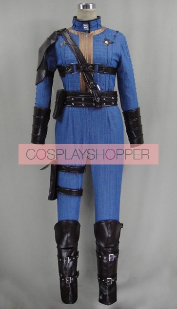Fallout 4 Sole Survivor Nora/Nate Cosplay Costume