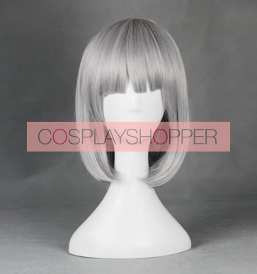 Silver 55cm Shimoneta: A Boring World Where the Concept of Dirty Jokes Doesn't Exist Shimoseka Anna Nishikinomiya Cosplay Wig