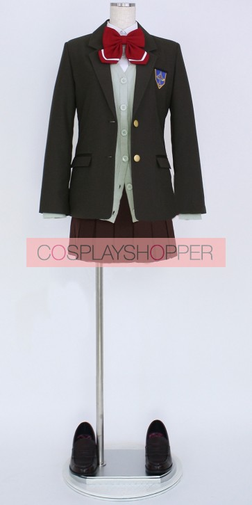Free! Gou Matsuoka Iwatobi High School Girl's Unifom Cosplay Costume