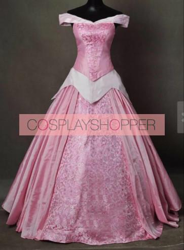 Sleeping Beauty Princess Aurora Dress Cosplay Costume - Version 3